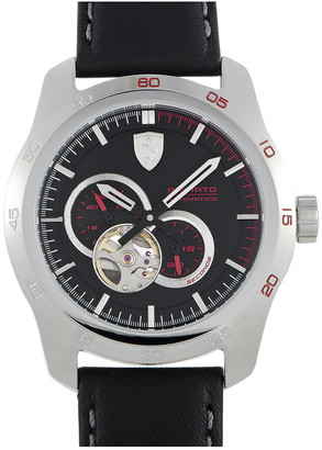 Ferrari Men's Leather Watch