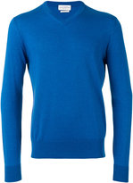 Ballantyne V-neck jumper - men - Cotton/Cashmere - 48