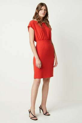 French Connenction Boh Whisper Short Sleeve Dress
