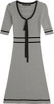 Marc Jacobs Robe rayée en coton