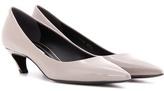 Balenciaga Patent Leather Kitten-heel Pumps