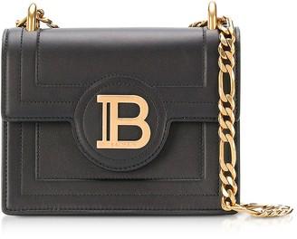 Balmain Black Leather 18 B-Bag