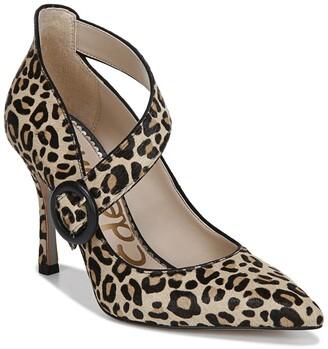Sam Edelman Hinda Cheetah Print Pointed Toe Pump