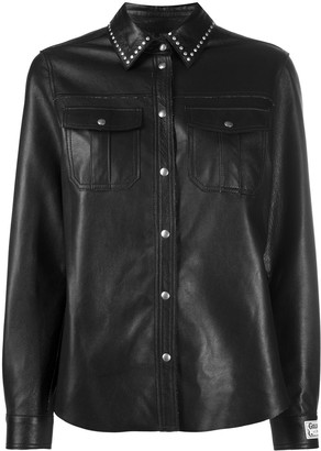Golden Goose Studded Leather Shirt