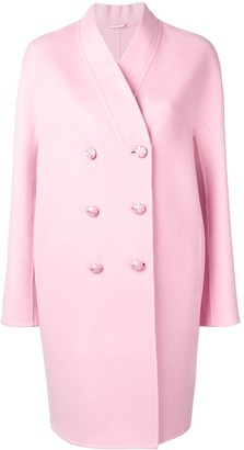Ermanno Scervino double breasted midi coat