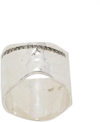 Rosa Maria Crystal-Embellished Bad Ring