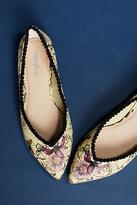 Faryl Robin Pom-Trimmed Ballet Flats