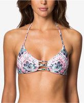 O'Neill Starlis Strappy Triangle Halter Bikini Top Women's Swimsuit