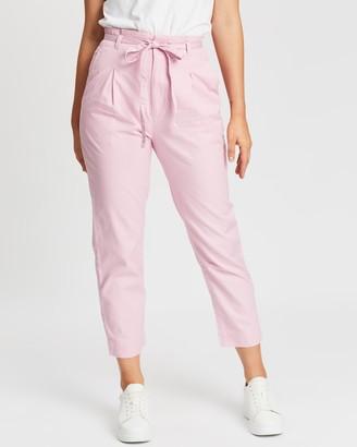 Gap Paperbag Khaki Tapered Pants