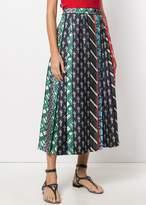 Carven Pleated Skirt Multi