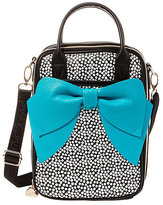 Betsey Johnson Chow Bella Lovely Bow Lunch Tote