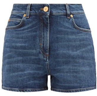 Versace Stretch-denim Shorts - Denim