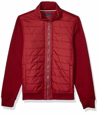 Tommy Hilfiger Men's Full Zip Mockneck Sweater
