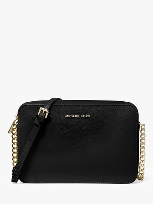 Michael Kors MICHAEL Jet Set Travel Leather East / West Cross Body Bag