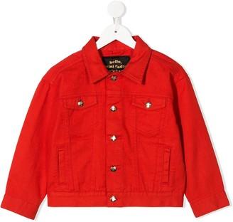 Mini Rodini Teddy Bear Denim Jacket
