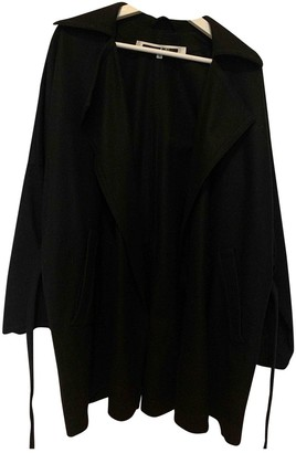 McQ Black Wool Coat for Women