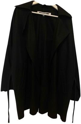 McQ Black Wool Coat for Women
