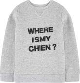 Chipie Mottled fleece sweatshirt