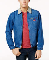 Dickies Men's Slim-Fit Full-Zip Denim Jacket