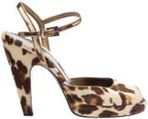 Prada Beige Pony-style calfskin Heels