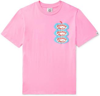 Billionaire Boys Club Logo-Print Cotton-Jersey T-Shirt - Men - Pink