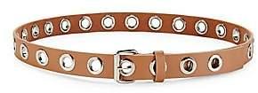 B-Low the Belt Women's Baby Heidi Grommet Leather Belt