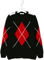 MSGM argyle sweater
