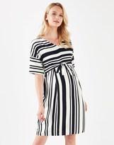 Mama Licious Mamalicious Maternity Wrap Tunic Dress