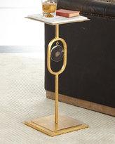 Regina-Andrew Design Eve Smoke Agate Side Table