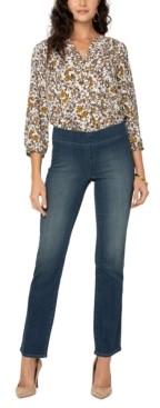NYDJ Marilyn Sure Stretch Denim Straight-Leg Jeans