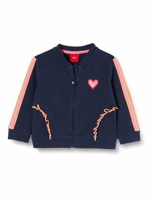 S'Oliver Junior Sweatshirt Sweatjacke Langarm Baby Girls