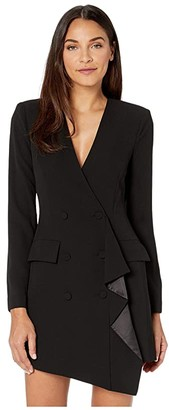 BCBGMAXAZRIA Blazer Dress (Black) Women's Dress