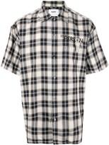 Doublet check print shirt