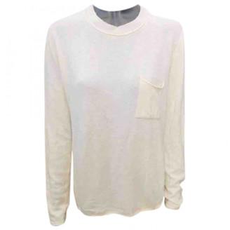 Benetton White Cashmere Knitwear