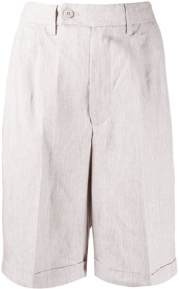 Dondup Pleated Bermuda Shorts