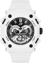 Skechers Men's SR1041 Analog-Digital Display Quartz White Watch