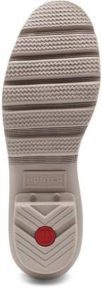 Hunter Original Back Adjustable Welly - Light Grey