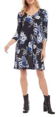 Karen Kane Tessa Floral Printed Dress
