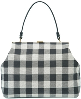 Mansur Gavriel Elegant Checker Shoulder Bag
