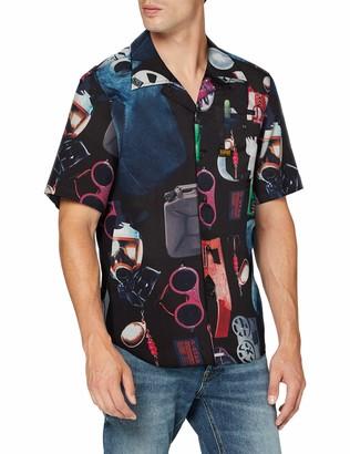 G Star Men's Bristum Straight Short Sleeve Shirt