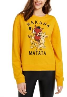 Mad Engine Disney Juniors' Hakuna Matata Graphic-Print T-Shirt