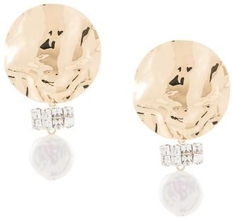 Rachel Comey Embellished Pearl Earrings