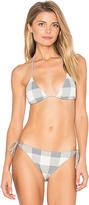Tularosa Tawney Bikini Top in Gray. - size L (also in M,S,XS)