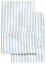 Melange Home Bamboo Cotton Stripe Pillowcases (Set of 2)