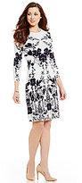 Antonio Melani Courtney Knit 3/4 Sleeve Dress