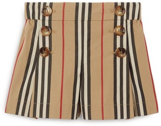 Burberry Kids Icon Stripe Shorts (3-12 Years)