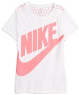 Nike Girl's Futura Graphic Tee