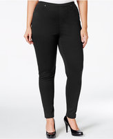Style&Co. Style & Co. Plus Size Pull-On Twill Leggings, Only at Macy's