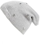 Kate Spade Women's Crystal Beanie - Grey