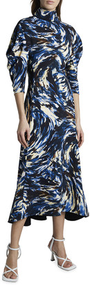 Proenza Schouler Cady Exaggerated-Sleeve Dress